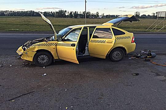 Встолкновении с Тоёта Corolla вБашкирии умер шофёр «ВАЗа»