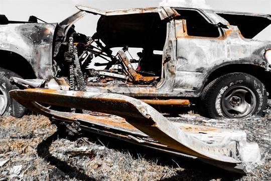 ВУфе 23-летний парень напился исжег шесть авто